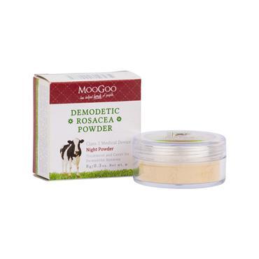 MooGoo Demodetic Rosacea Night Powder