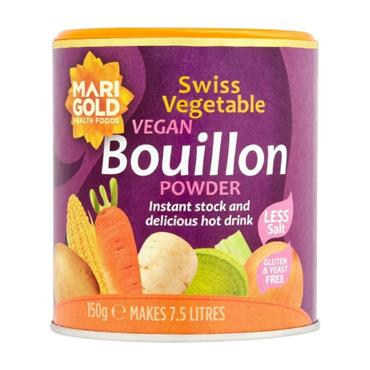Marigold Reduced Salt Swiss Vegetable Bouillon (Purple) 150g