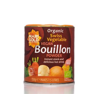 Marigold Organic Vegan Swiss Vegetable Bouillon (Red) 150g