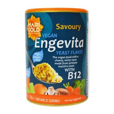 Marigold Engevita Nutritional Yeast Flakes with Zinc & B12 125g