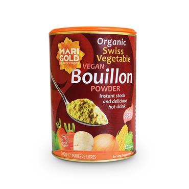 Marigold Organic Vegan Swiss Vegetable Bouillon (Red) 500g