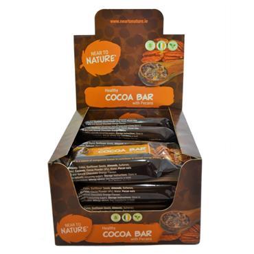 Chocolate Orange Cocoa with Pecans 40g