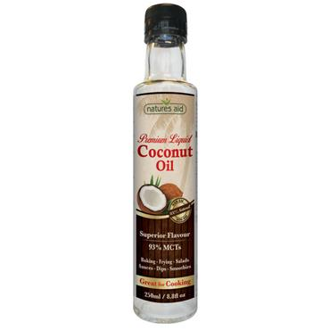 Nature's Aid Liquid Coconut Premium Oil - 250ml