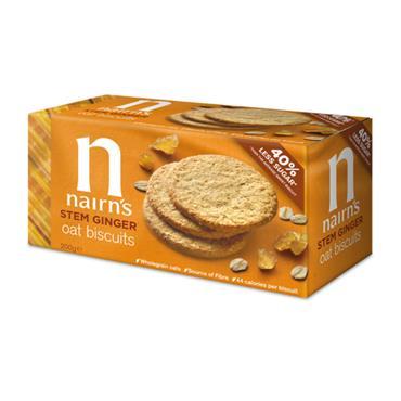 Nairn's Stem Ginger Oat Biscuits 200g