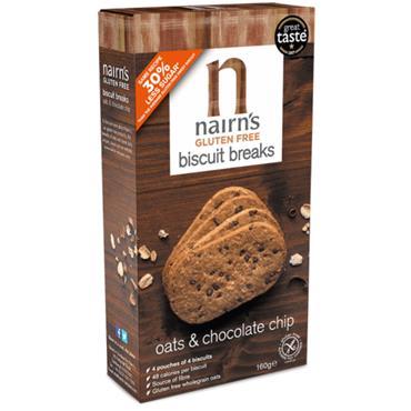 Nairn's Gluten Free Chocolate Chip Biscuit Breaks