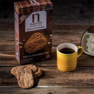Nairn's Gluten Free Chocolate Chip Biscuit Breaks