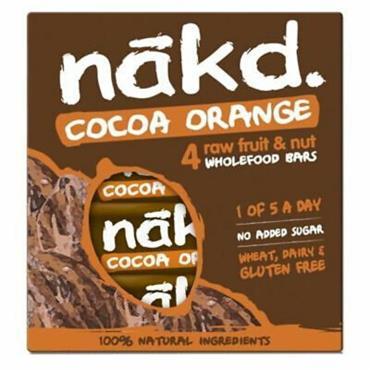 Nakd Cocoa Orange Pack 4x35g