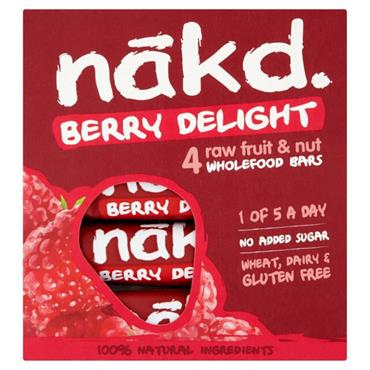 Nakd Berry Delight Pack 4x35g