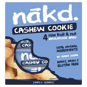 Nakd Cashew Cookie Pack 4x35g