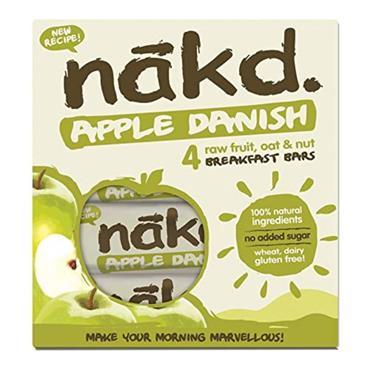 Nakd Apple Danish pack 4x30g