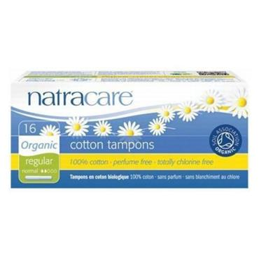 Natracare Regular with Applicator Tampons 16's