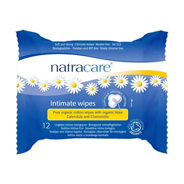 Natracare Organic Cotton Feminine Wipes