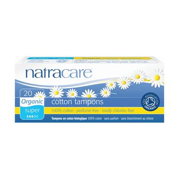 Natracare Super Tampons without Applicator - 20 tampons