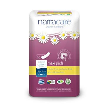 Natracare Night Time Press On Towels