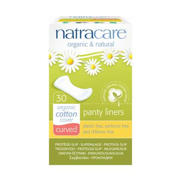 Natracare Curved Liners - 30 liners