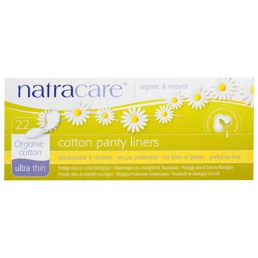Natracare Organic Cotton Pant Liners - 22 liners
