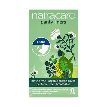Natracare PANTY LINERS long 16s