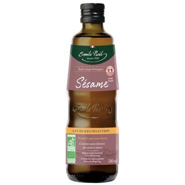 Emile Noel Organic Non Toasted Sesame Oil 500ml
