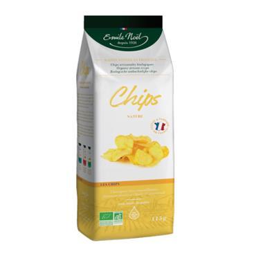 Emile Noel Organic Natural Crisps 115g