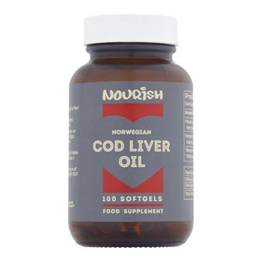 Nourish Cod Liver Oil 100 Capsules