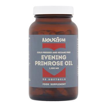 Nourish Evening Primrose Oil 1300mg 90 Capsules