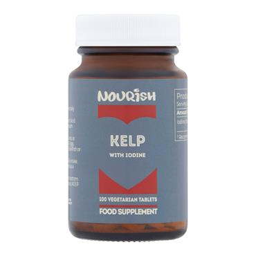 Nourish Kelp with Iodine 100 Tablets