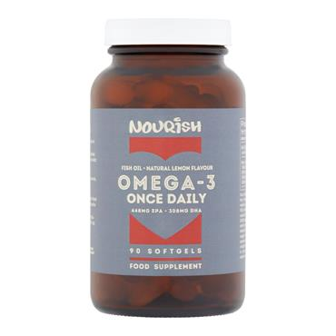 Nourish Omega 3 Once Daily SoftGels 90s