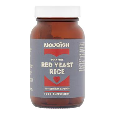 Nourish Red Yeast Rice 60 Capsules