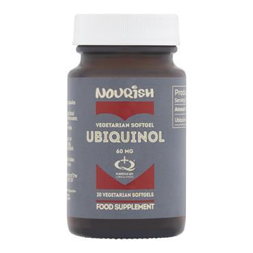 Nourish Ubiquinol CoQ10 60mg SoftGels 30s