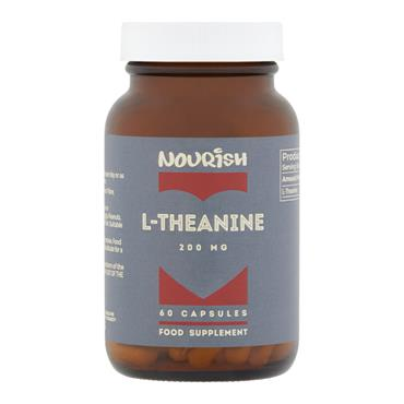 Nourish L-Theanine 200 mg 60 Capsules