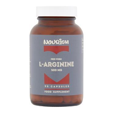 Nourish L-Arginine 500 mg 90 Capsules