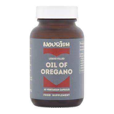 Nourish Oil of Oregano 60 Caps