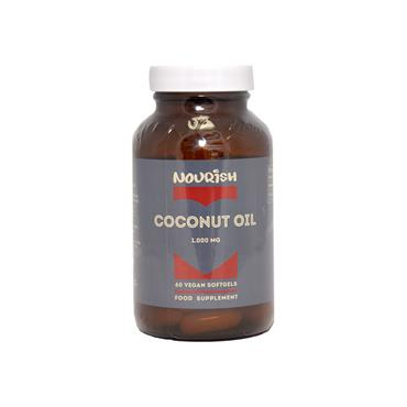 Nourish Coconut Oil 1000mg 60 Caps