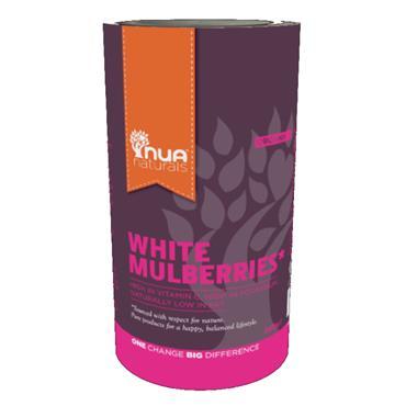 NUA Naturals Organic White Mulberries 200g