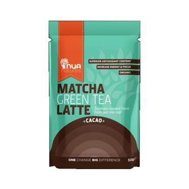 NUA Naturals Organic Matcha Latte Cacao 65g