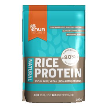 NUA Naturals Natural Rice Protein Powder 250g