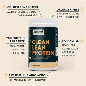 Nuzest Clean Lean Protein Just Natural 500g