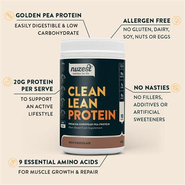 Nuzest Clean Lean Protein Chocolate 1Kg