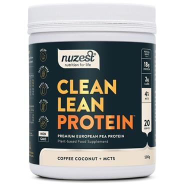 Nuzest Clean Lean Protein Functional - 500g Coffee Coconut + MCTs