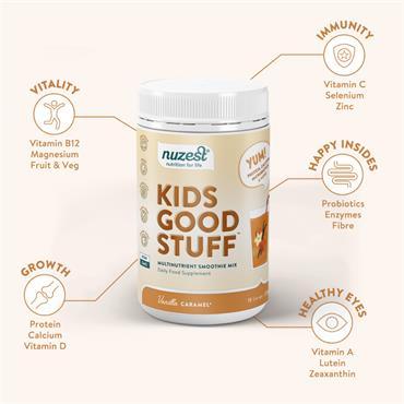 Nuzest Kids Vanilla Caramel 225g