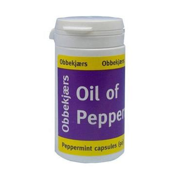 Obbekjaers Oil of Peppermint Capsules - 90 Capsules