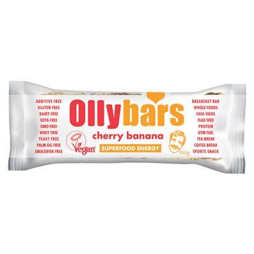Ollybars Cherry Banana Bar 60g