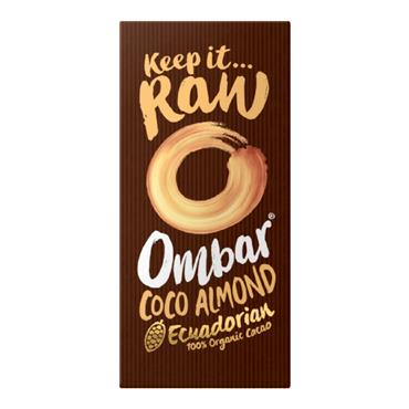 Ombar Coco Almond Raw Chocolate Bar 70g