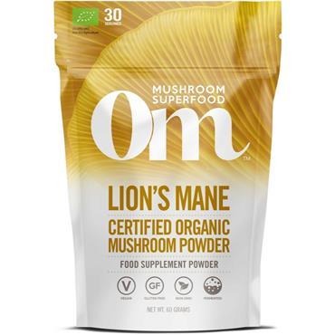 Om Organic Mushroom Lion's Mane Powder 60G