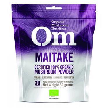 OM Organic Maitake Mushroom Powder 60g