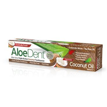 Aloe Dent Coconut Oil Toothpaste 100ML