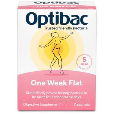 Optibac One Week Flat Sachets 7s