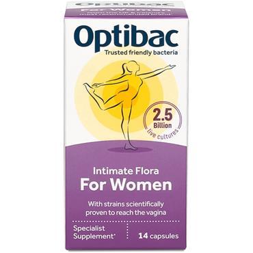 Optibac Live Cultures for Women 14 caps
