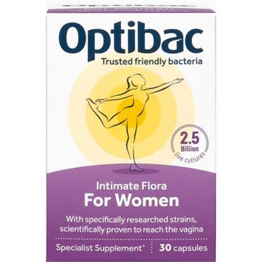Optibac Live Cultures for Women 30 caps