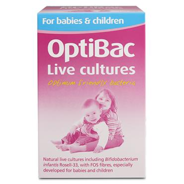 OPTIBACLive Cultures FOR BABY & CHILD 90s